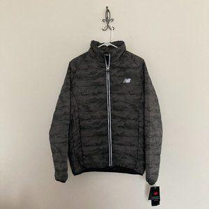 New Balance Camo Puffer Jacket Size Small